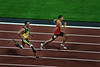Oscar Pritorius making history in the 400 metres at the London Olympics, August 5.