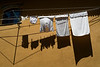 Washing in the midday sun, Porto, July 8.