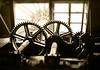 Nov 19, waterwheel, Painshill Park, Surrey.
